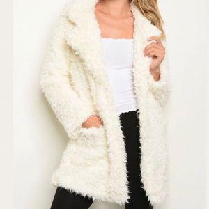 Vegan Furry Coat